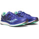 saucony Liberty ISO Shoes Women Violet/Aqua